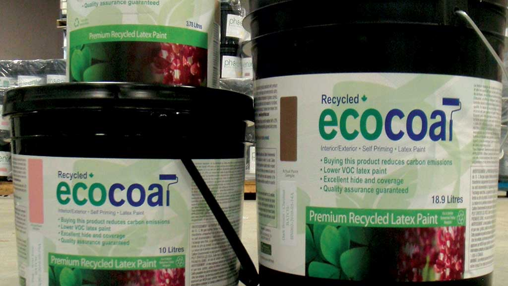 Ecocoat Recycled Latex Paint